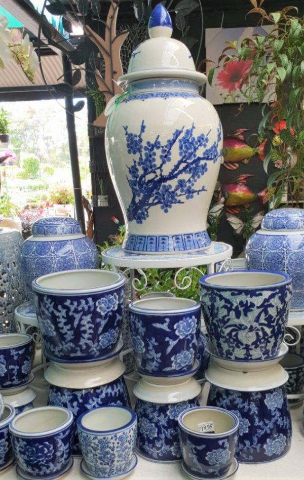 Indoor Glazed pots