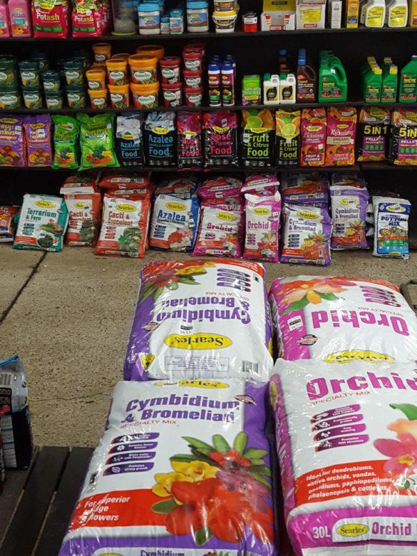 Bagged Garden Supplies