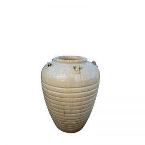 Glazed Egyptian Jar with Lugs