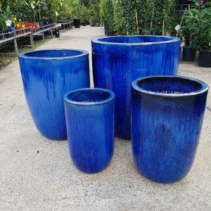 Glazed Ceramic Blue