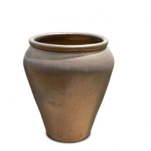 Glazed Heavy Metal Palace Pot