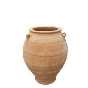 """Greek Terracotta """"Bala"""" Jar"""