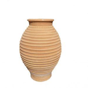 "Greek Terracotta ""Minoiko"" Urn"
