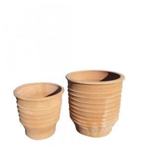 "Greek Terracotta ""Zonarati"" Planter"